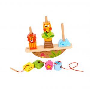 Balance Stacker - Animals Tooky Toy