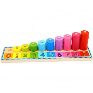 Counting Stacker Tooky Toy