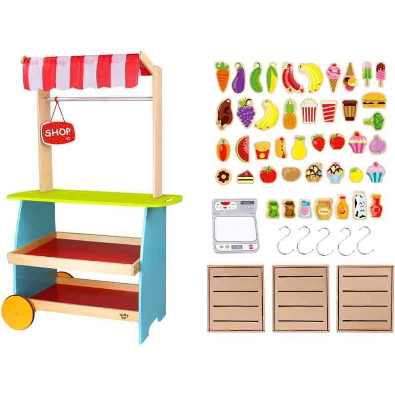 Fruit Stand Kiosk Tooky Toy