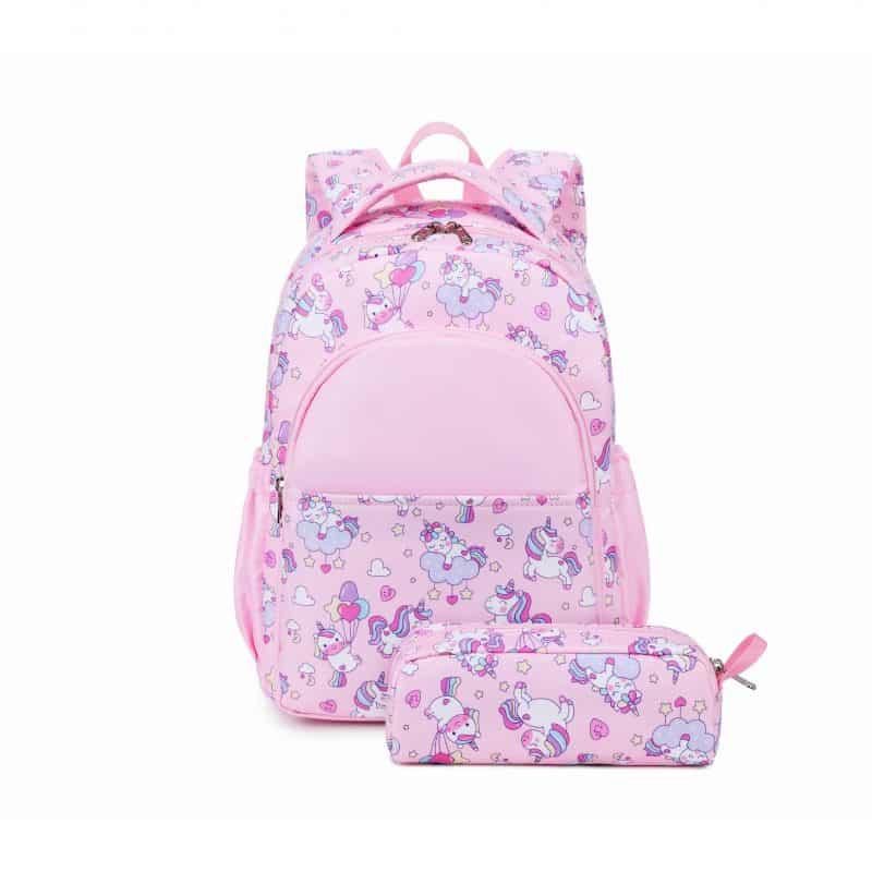 Mini Pink Unicorn Backpack Trio Kids Singapore