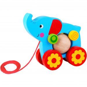 Pull Along - Elephant Tooky Toy